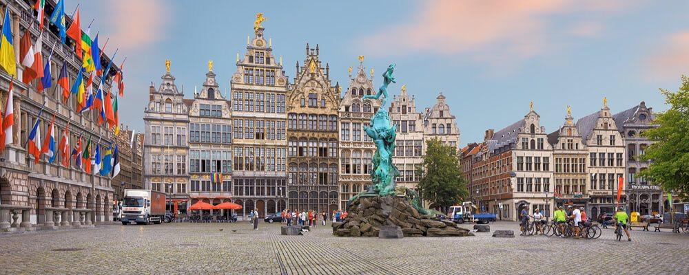 Verhuizen naar Antwerpen