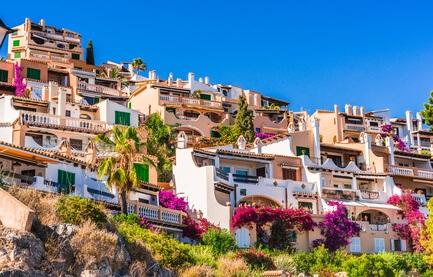 Wonen in huis in Spanje